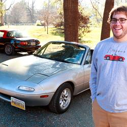Dan's Mazda Miata meets the Alpine KTP-445A Power Pack