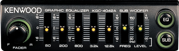 kenwood kgc 4042a equalizer at crutchfield com