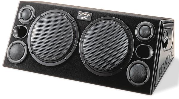 Kenwood KSC-7702 3-way hatchback speaker box