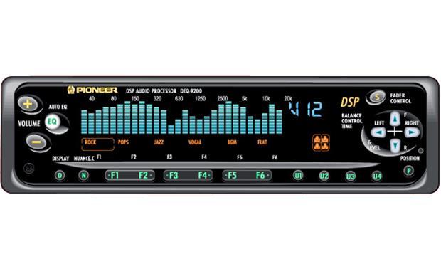 Pioneer DEQ-9200 Digital Signal Processor with EQ and