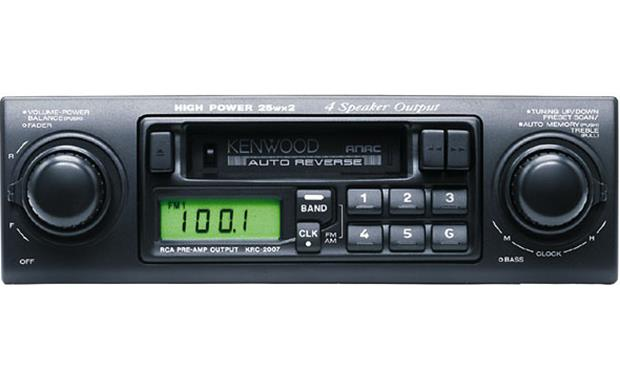Kenwood KRC-2007 Cette Receiver at Crutchfield on
