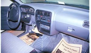 1996 Nissan Hardbody Factory Radio