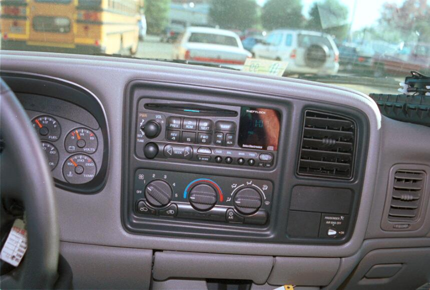 Radio on 1996 Gmc Sierra Wiring Diagram