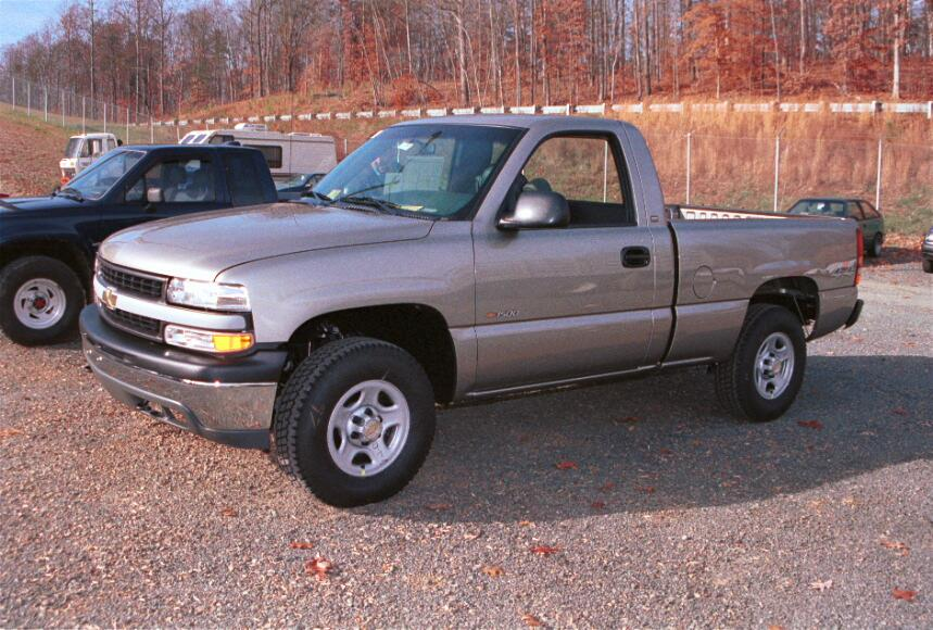 1999-2002 Chevy Silverado and GMC Sierra Regular Cab Car ... on