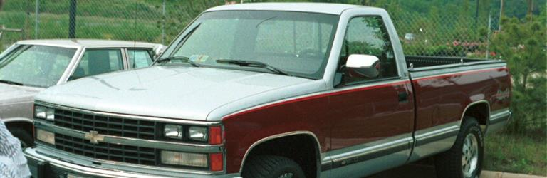 1992 chevy silverado dashboard