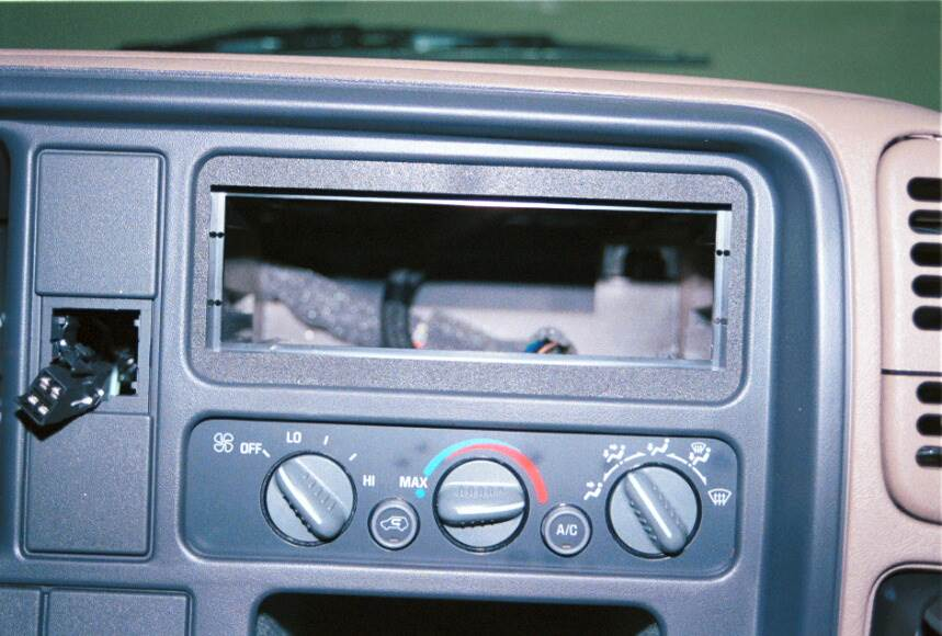 chevy c/k radio kit