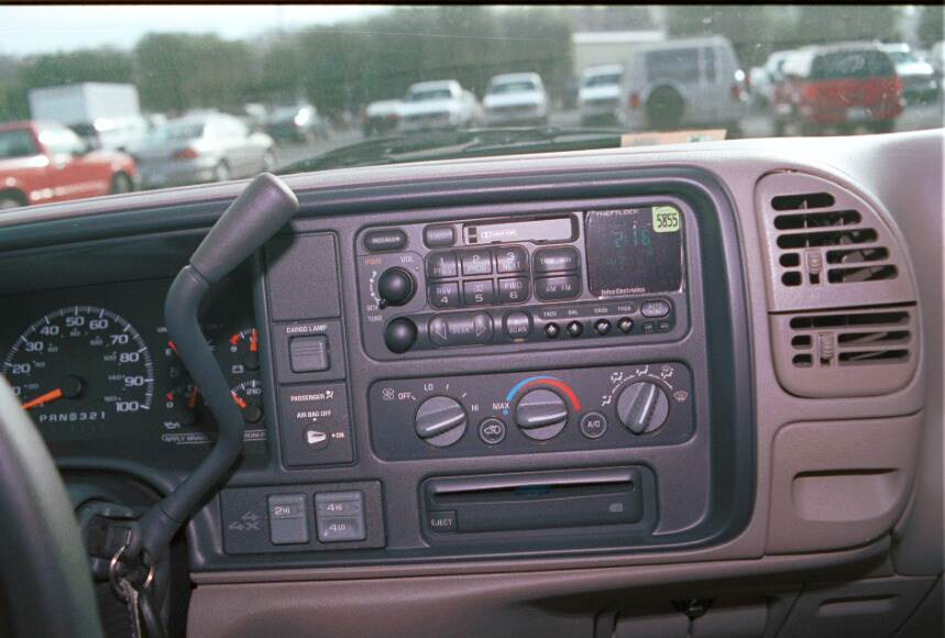 chevy gmc c/k radio