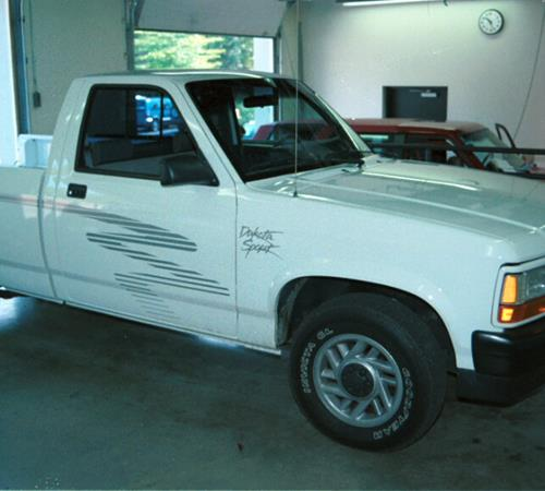 Get 1991 Dodge Dakota Sport