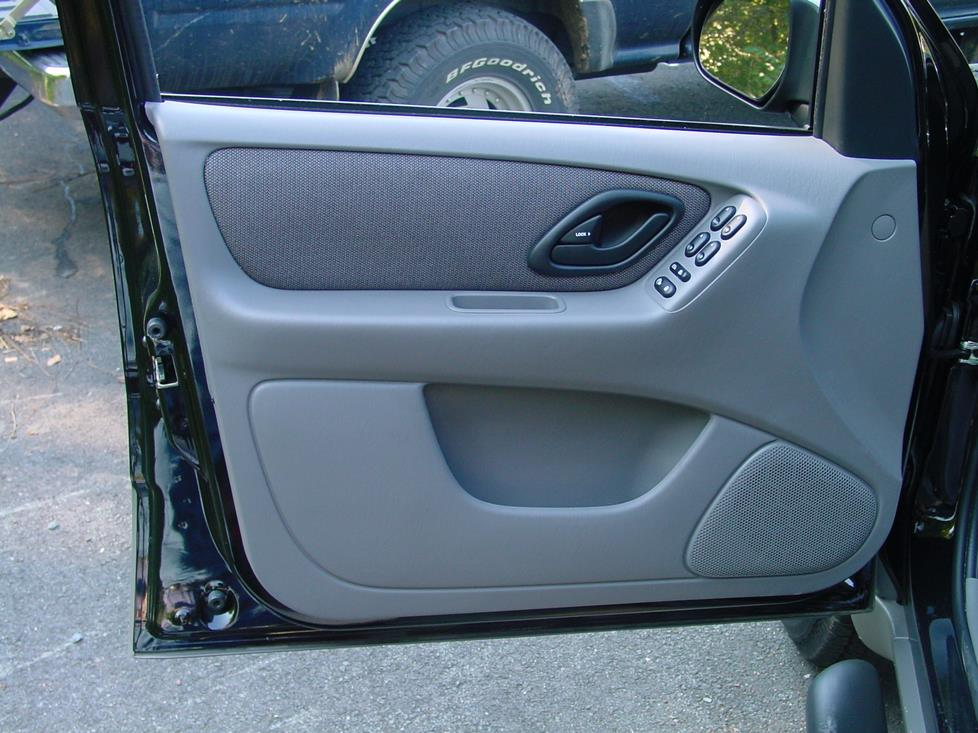 ford escape and mercury mariner car audio profile ford escape front door