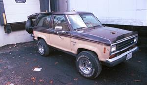 1986 Ford Bronco II Exterior