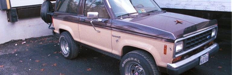 1987 Ford Bronco II Exterior