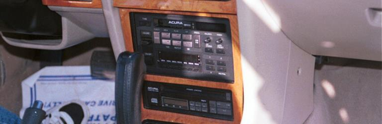1986 Acura Legend Factory Radio