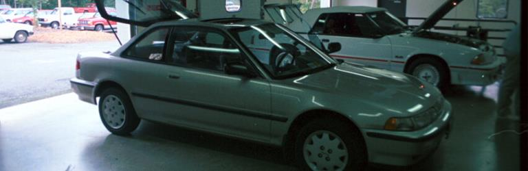 1991 Acura Integra RS Exterior