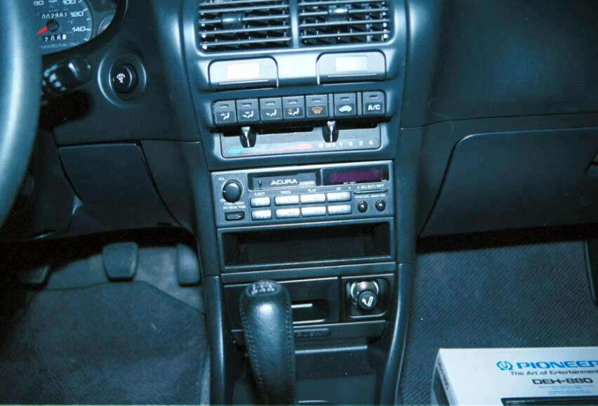 acura integra radio