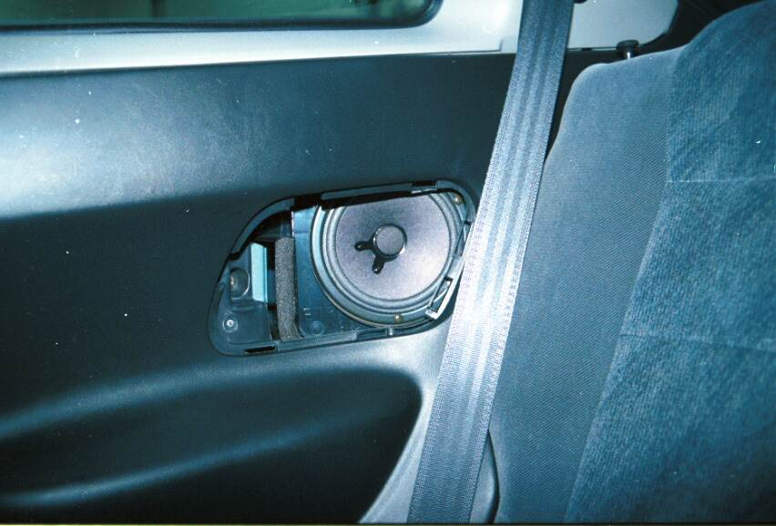 acura integra coupe rear side speakers
