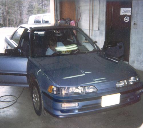 1993 Acura Integra RS Exterior