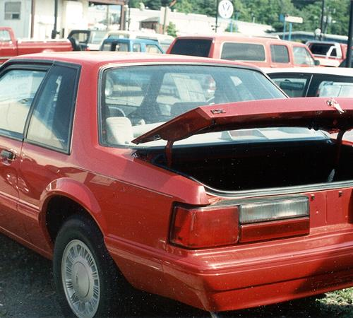 1989 Ford Mustang Exterior