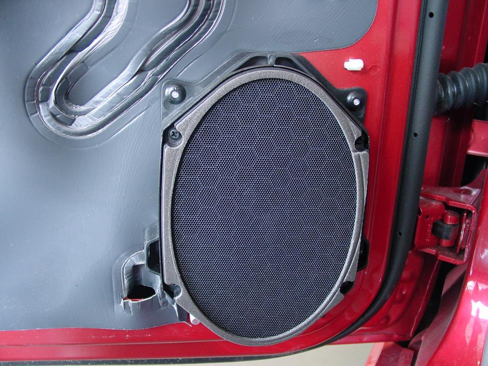 2001-2004 Ford Mustang Car Audio Profile on
