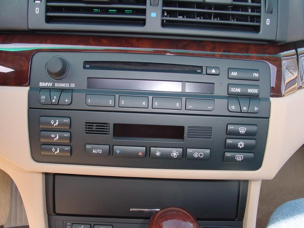 radio 1999 2005 bmw 3 series sedan car audio profile  at bayanpartner.co