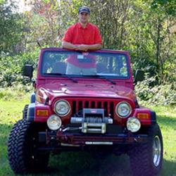 Mark Shelton's Jeep Wrangler