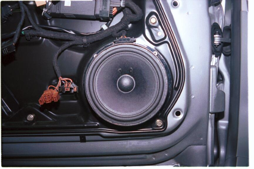 vw beetle front door speaker