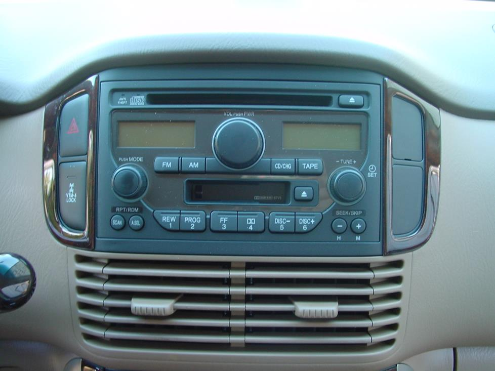 2003-2008 Honda Pilot Car Audio Profile