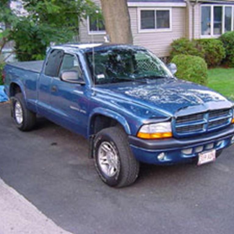 truck dodge dakota audio radio, speaker, subwoofer, stereo  at mifinder.co