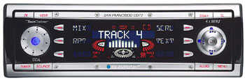 Blaupunkt San Francisco CD72 In-dash CD Receiver