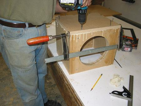 Clamping the box