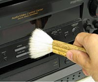 Dusting your receiver
