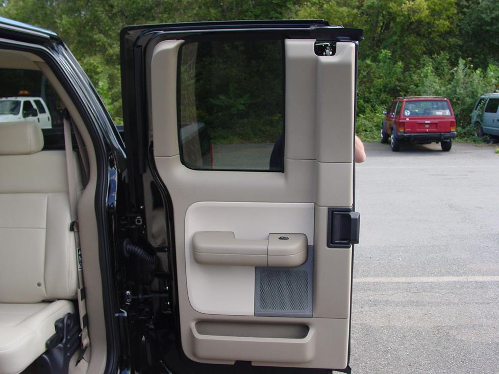2004 2008 ford f 150 supercab car audio profile for Back door with window that opens