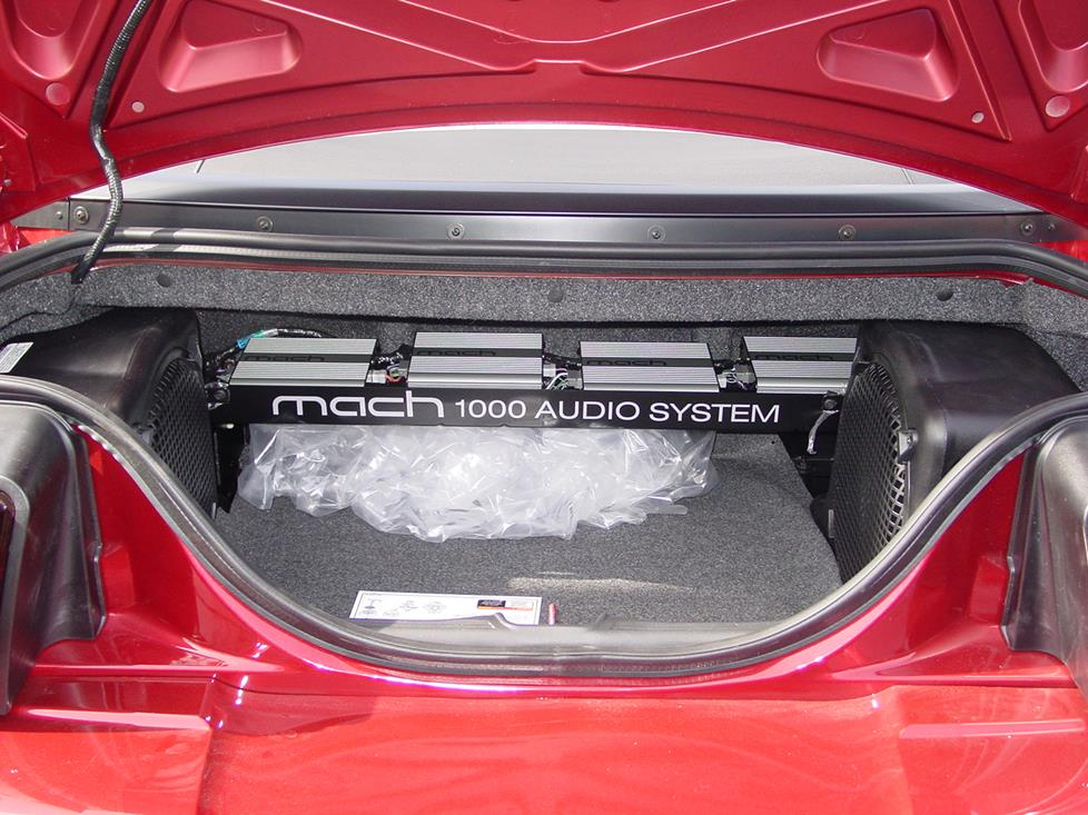 2001-2004 ford mustang car audio profile