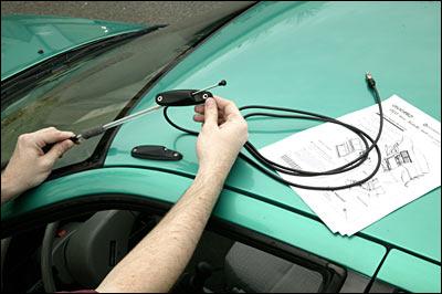 12 Volt Replace Broken Windscreen Internal Glass Mount Amplified Aerial Replace