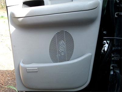 rear speakers