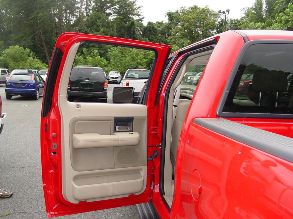 Ford F-150 rear doordoor panel