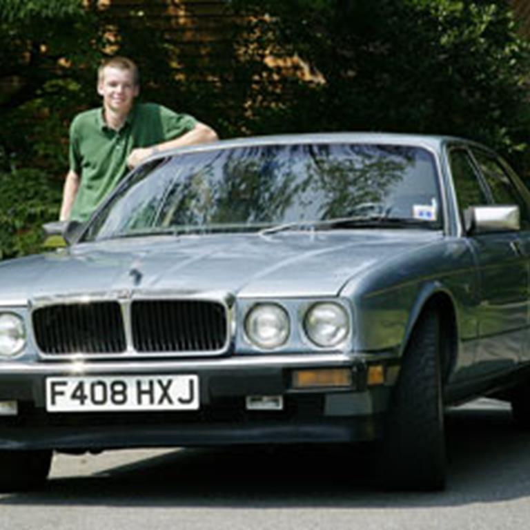 Dan Hackney's 1988 Jaguar XJ6