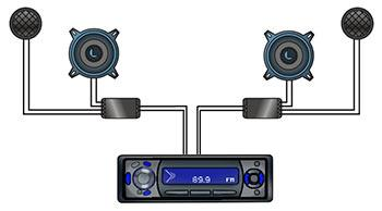 14 Receiver XO spkrs component speakers installation guide car audio crossover wiring diagrams at bayanpartner.co