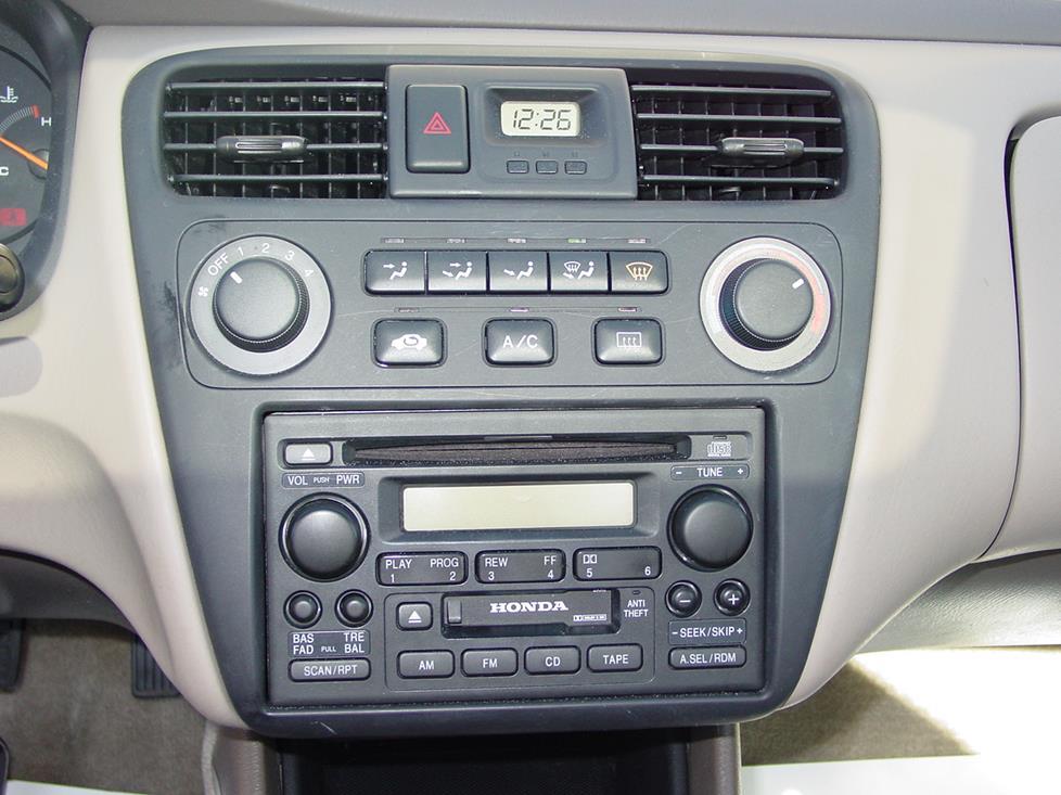 Service manual 1994 Honda Accord Ex Factory Cassette