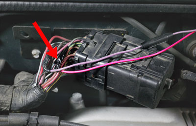 navigation installation guide vehicle speed sensor