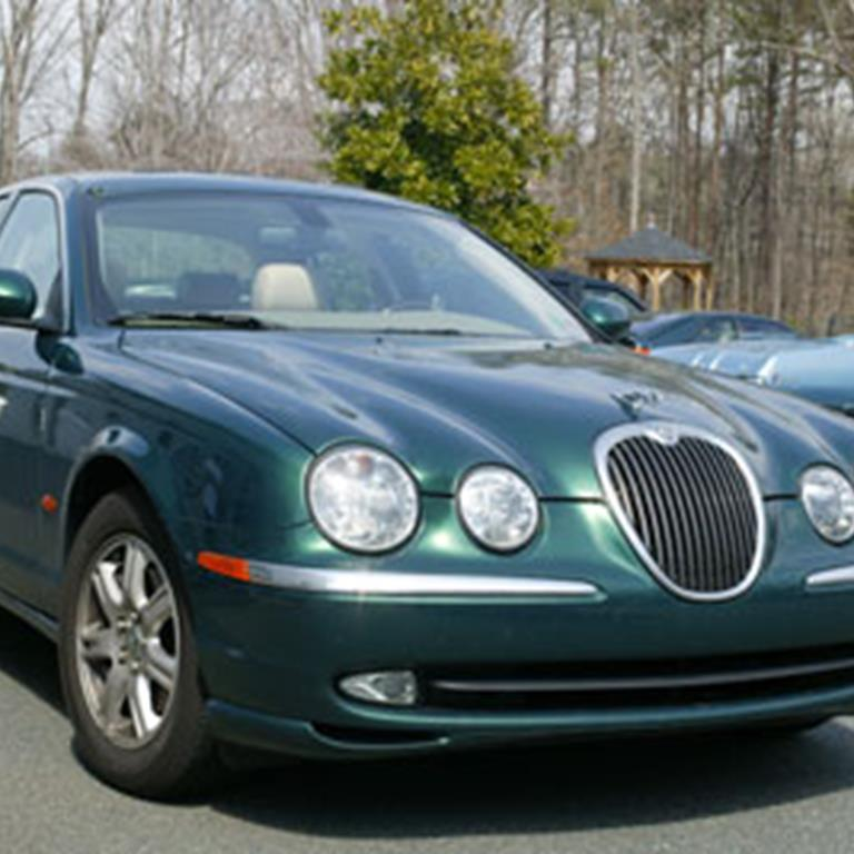 Tony Kinn's 2003 Jaguar S-Type