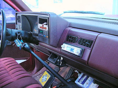 The deck in the dash - Xplod!