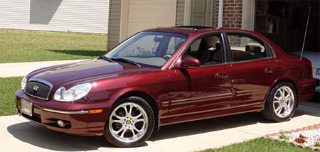 Mike Washington's 2002 Hyundai Sonata GLS