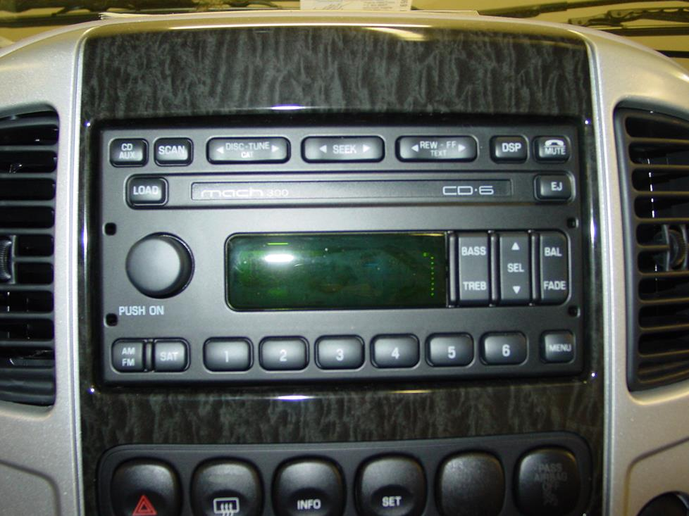2001 2007 ford escape and mercury mariner car audio profile. Black Bedroom Furniture Sets. Home Design Ideas