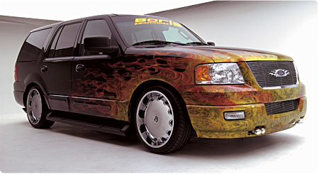 Borla's 2003 Ford Expedition