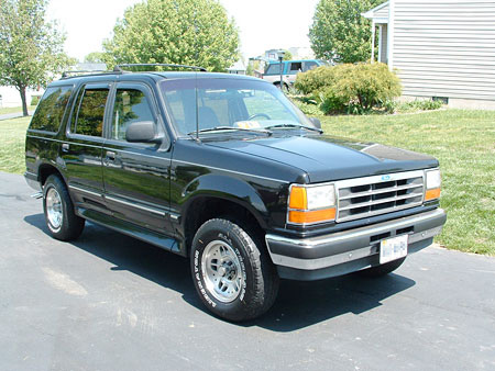 Dustin Shull's 1993 Ford Explorer