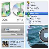 iTunes collage