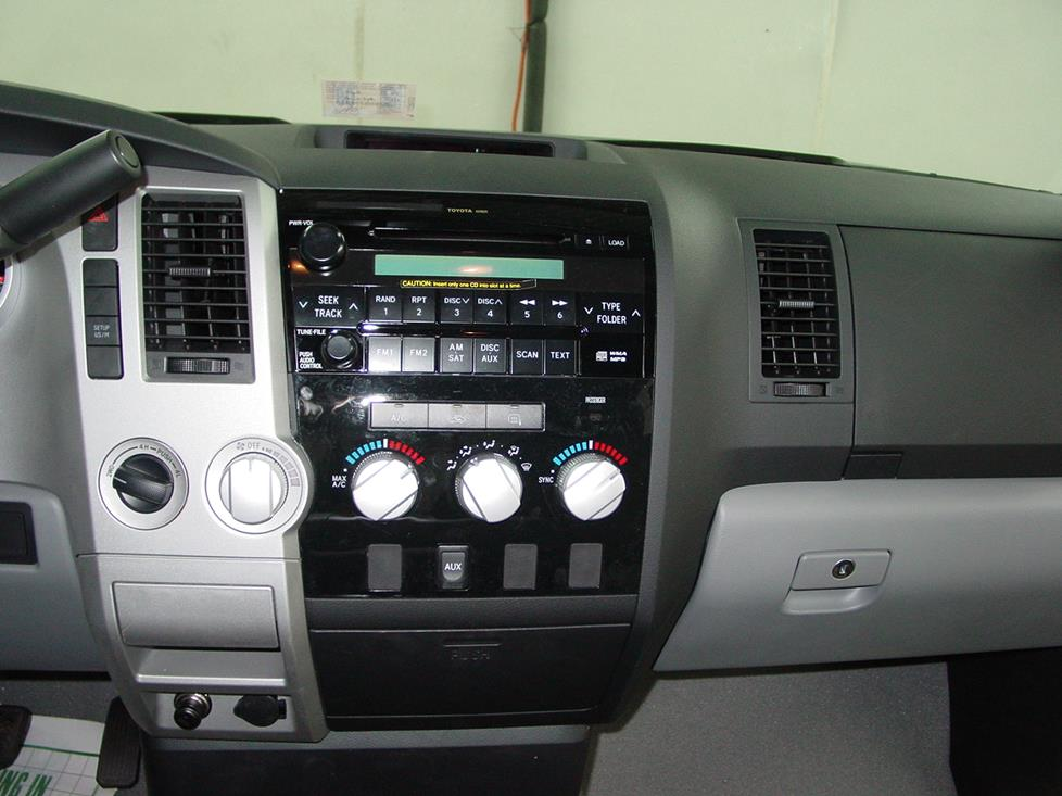 2007 2013 toyota tundra double cab car audio profile toyota tundra factory stereo