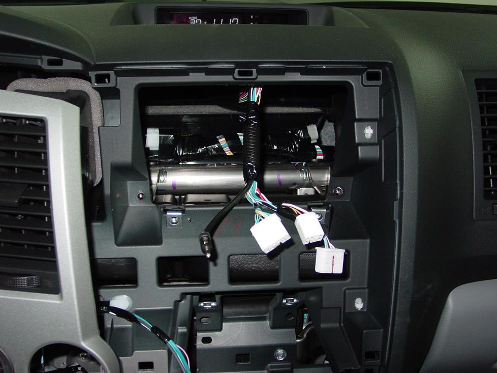 radiowiring 2007 2013 toyota tundra double cab car audio profile