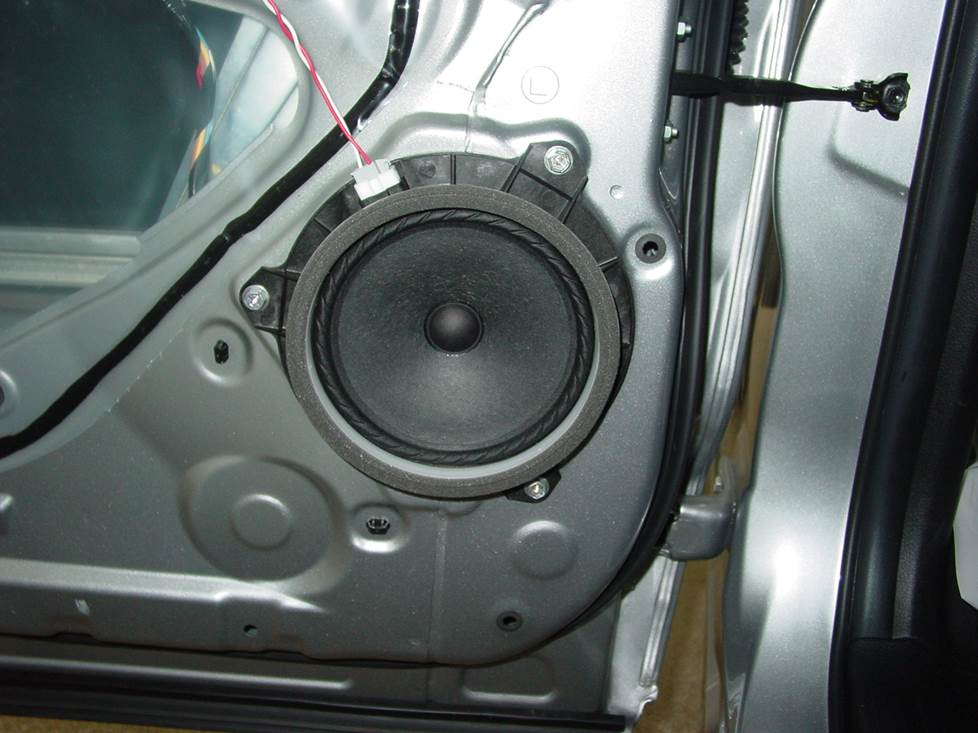 toyota rear door speaker