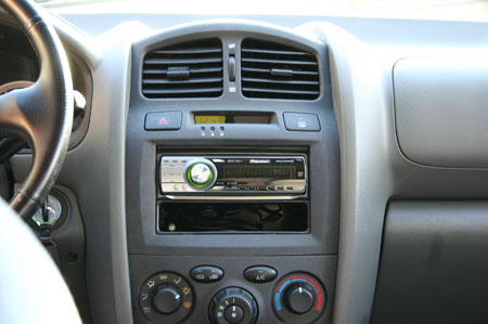 Installed Pioneer DEH4800MP